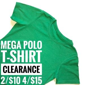 NEW Green T-Shirt MEGA CLEARANCE 2 for 10